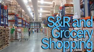 Large sales floor