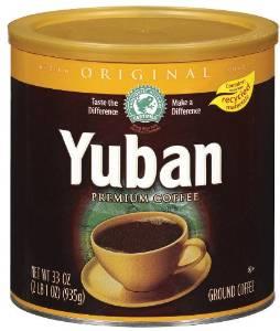 Yuban Coffee