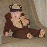 """Chunky Monkey"" ready for Halloween"