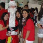 Seems these ladies like Santa
