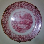 pink plate made from England