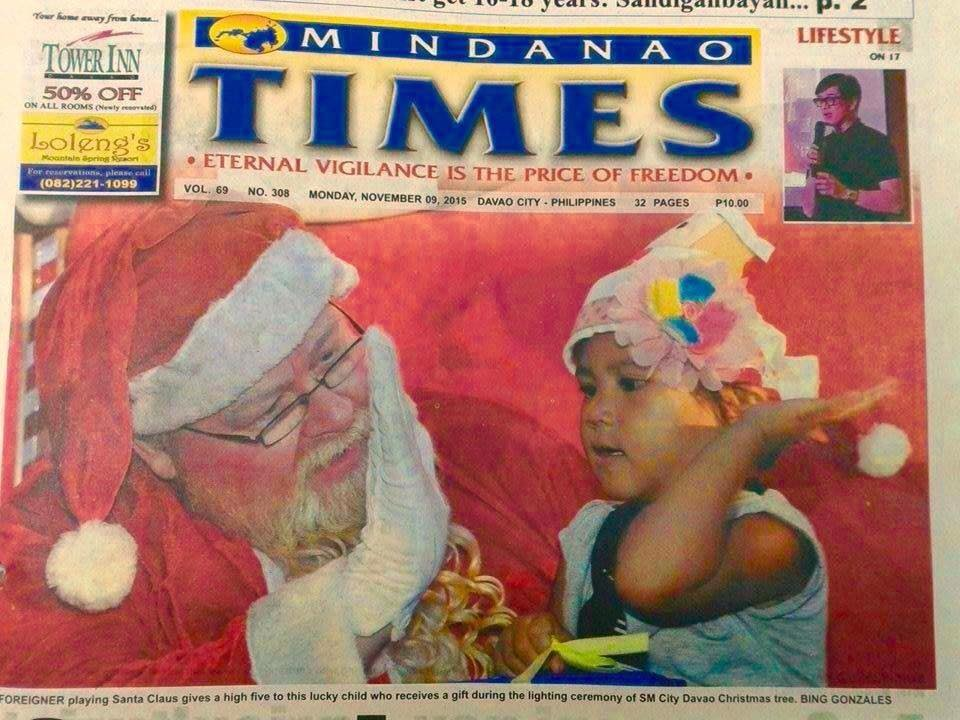 Mindanao Times Front Page