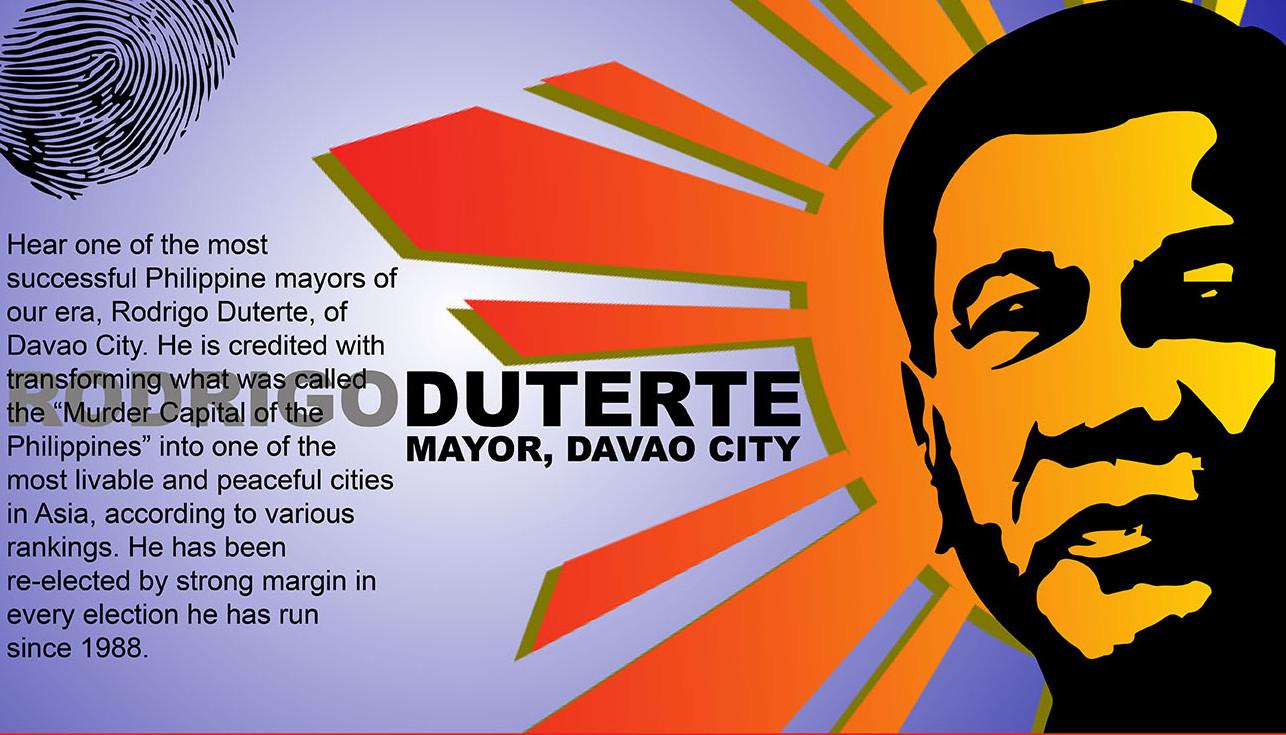Davao's Beloved Mayor is running for President