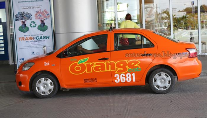 Orange Taxis