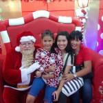 Santa Bob, Feyma, Jean and Sharmaine