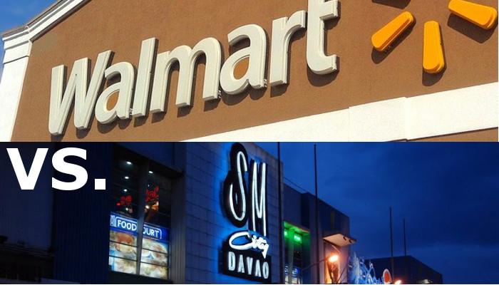customer benefit package walmart versus luxury clothier Walmart.