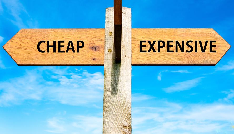 Cheap vs Expensive