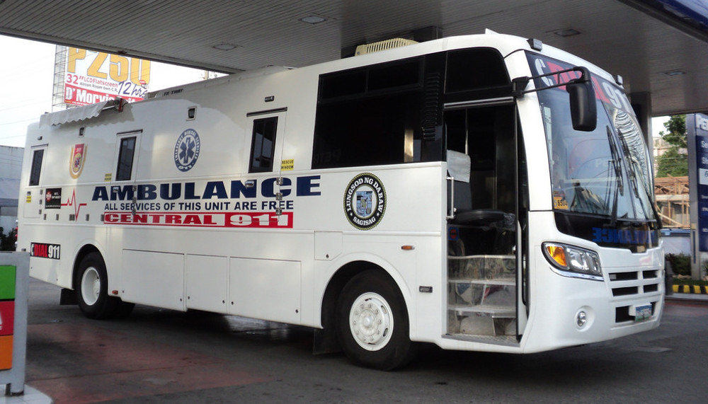 Davao 911 Ambulance - All Services are FREE