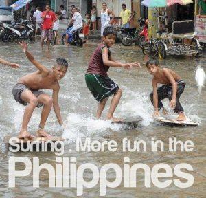 Surfing Manila