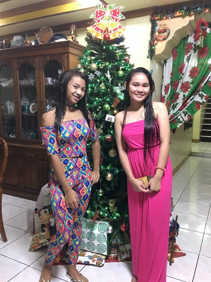 But every year I must see my (left) Granddaughter Colleen 14 and my Niece Shey 15 grow up a little more.