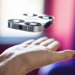 AirSelfie is the world's smallest portable flying camera.