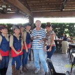 Jinky and the Cowgirls and some old dude