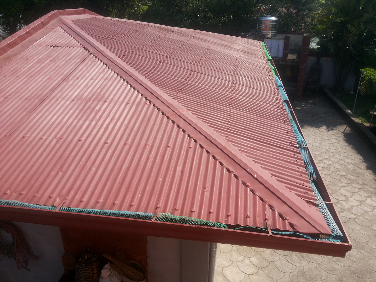 This roof is next