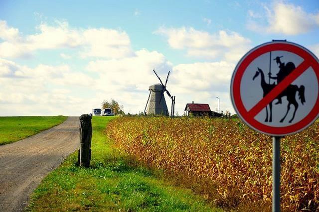 Don Quixote should live here