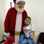 Santa loves this child