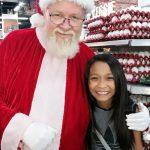 She said I was the real Santa