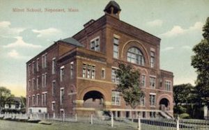 Minot School, where my quest began.