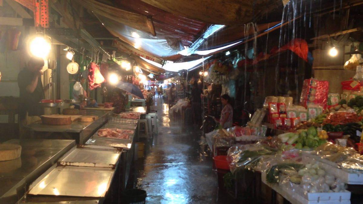 Public Wet Market in the Philippines