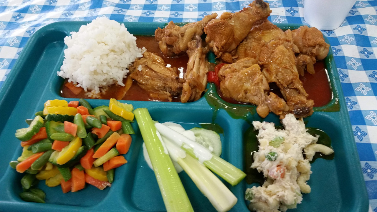 Would you want to eat Mess Hall Food?