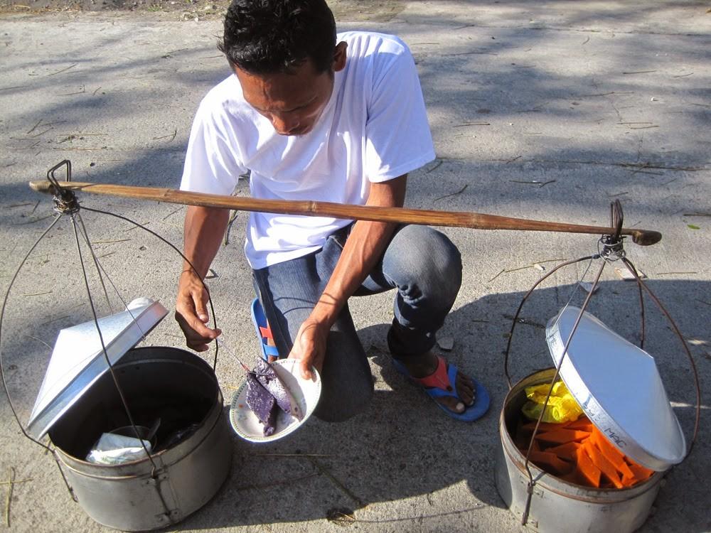 Vendor in the Philippines