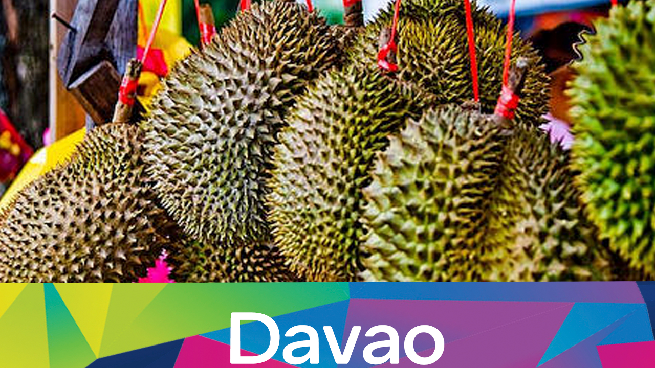 Durian is SO popular in Davao