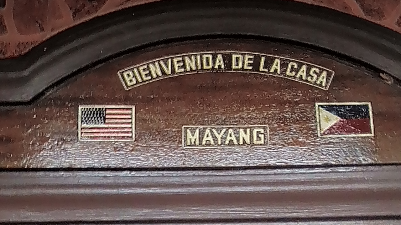 Welcome to the House of Mayang